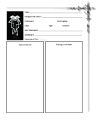 League of Seekers D100 Character Sheets