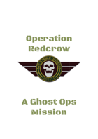 Ghost Ops - Operation Redcrow