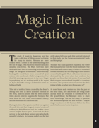 The Black Iron - Creating Magic Items D6