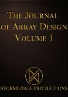 Journal of Array Design Volume 1 Cards
