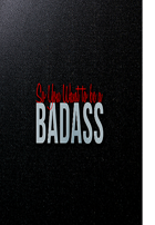 So You Want to be a Badass?! Character Sheet