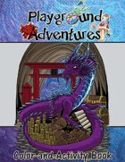 Playground Adventures Kids Color Activity Book