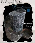 """Tira-dados Cascada circular """"TIERRA"""" (tabloide) Dice roller Circular cascade """"Earth"""""""