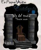 Sala del trono / Throne room (tabloide)