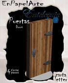 Puertas modelo 5 - Doors model 5 (carta)