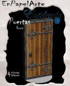 Puertas modelo 6 - Doors model 6 (carta)