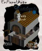 Iglesia 3D / Church 3D (Tabloide)