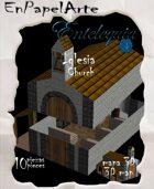 Iglesia 3D / Church 3D (Tabloide)