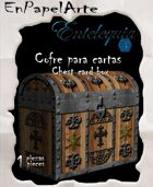 Cofre para cartas Pirata / Chest Card box Pirate