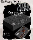 Caja de dados Mata vampiros / Vampire slayer Dice box