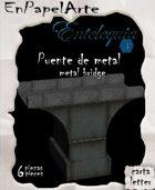 Puente de metal (carta) Metal bridge