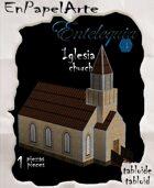 Iglesia mod 2 / Church mod 2(tabloide)