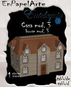 Casa mod. 3 / House mod. 3(tabloide)