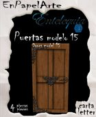 Puertas modelo 15 - Doors model 15 (carta)