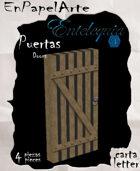 Puertas modelo 18 - Doors model 18 (carta)