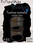 Escaleras verticales TC / Cave ladder TC