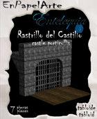 Rastrillo del castillo / Castle porticullis (Tabloide)