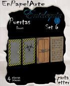 Puertas Set 6 - Doors set 6 (carta)