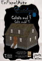 Cabaña modelo 3 / Cabin model 3 (carta)