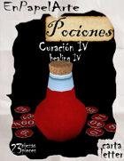 Poción de curación 4 / healing potion 4
