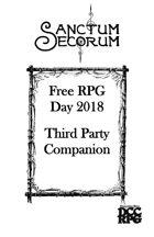 Sanctum Secorum - Episode #36b Companion (Free RPG Day 2018 Companion)
