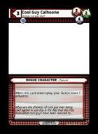Cool Guy Calhoone - Custom Card