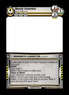 Boozy Inventor - Custom Card
