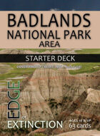 Badlands National Park Area Starter Deck