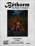 Bethorm: the Plane of Tekumel RPG