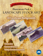 Illustration Pack 1: Landscapes