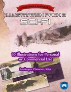 Illustration Pack 3: Sci-fi
