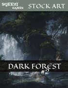 Stock Art Background: Dark Forest #2