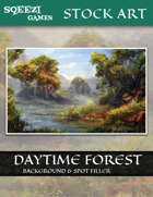 Stock Art Background: Daytime Forest #1