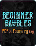 Beginner Baubles Complete Collection (PDF + Foundry VTT)