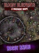 24x36 Battlemap - Boggy Bayou
