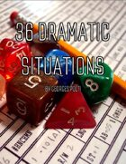 36 Dramatic Situations