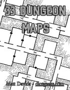 33 Dungeon Maps