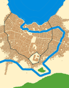 Malakon City Map