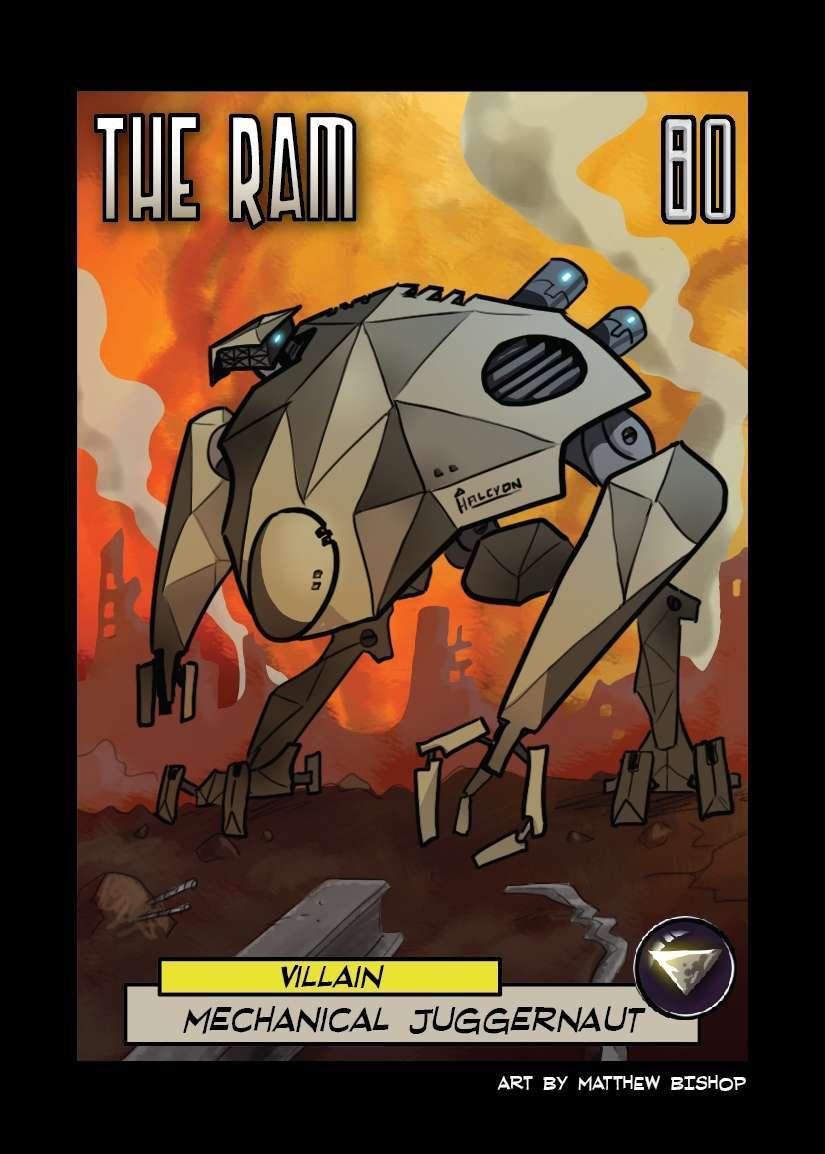 The Cauldron - The Ram villain deck