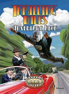 Thrilling Tales Adventure Deck (Savage Worlds)