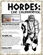 HORDES: The Thunderfist