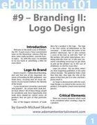 ePublishing 101 (#9) - Branding 2: Logo Design