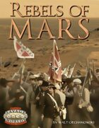 Rebels of Mars (Savage Worlds)