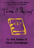 Tome of Darros