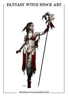 Fantasy Witch Stock Art