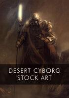 Post Apocalypse Sci-Fi Cyborg Stock Art