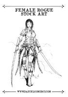 Female Rogue Stock Art