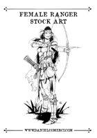 Female Ranger Stock Art