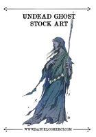 Undead Ghost Stock Art