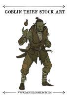 Female Goblin Thief Stock Art